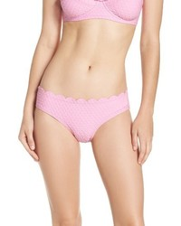 Braguitas de bikini rosadas de Kate Spade