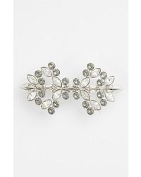 Broche de solapa plateado de Givenchy