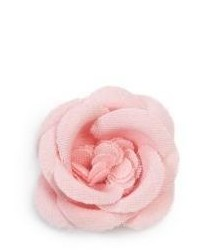 Broche de solapa rosado