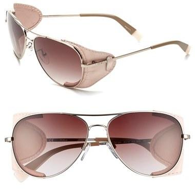 241c6266e3 ... Furla 58mm Aviator Sunglasses ...