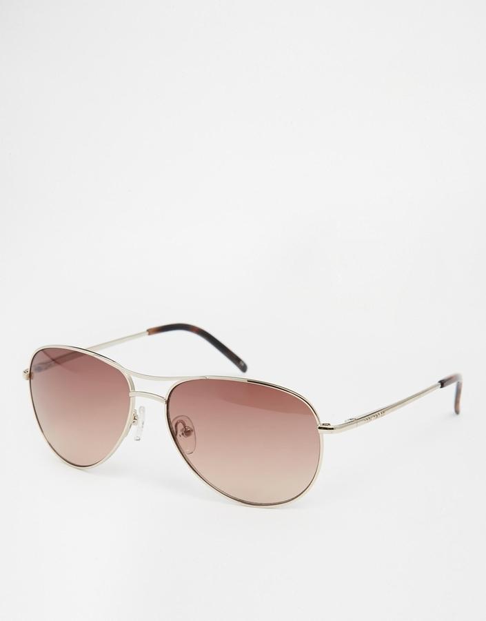5154176c41562 ... Ted Baker Carter Gold Aviator Sunglasses ...