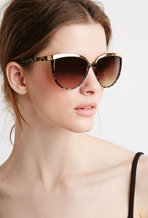 cb2a2843202 Forever 21 Cat Eye Sunglasses
