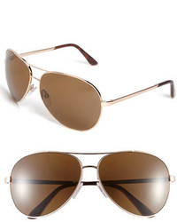 Tom Ford Charles 62mm Polarized Sunglasses