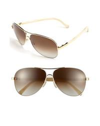 Chloé Chloe 61mm Aviator Sunglasses