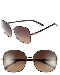 Chloe nerine 58mm sunglasses gold black medium 209408