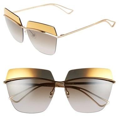 928c4dd52cf ... Christian Dior Dior 63mm Retro Metal Sunglasses ...