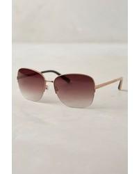 Bobbi Brown Dutch Sunglasses Gold One Size Eyewear