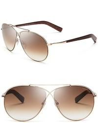 Tom Ford Eva Aviator Sunglasses 61mm