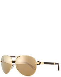 Givenchy Flash Aviator Sunglasses