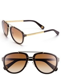 aedd961520f Marc By Marc Jacobs Side Stripe Aviator Sunglasses
