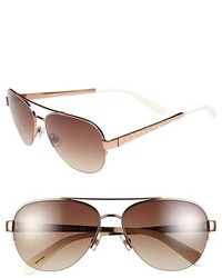 6d24813dfad Women s Brown and Gold Sunglasses by Kate Spade
