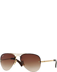 Original aviator sunglasses golden medium 174672