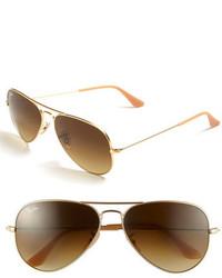 Ray-Ban Standard Original 58mm Aviator Sunglasses Black