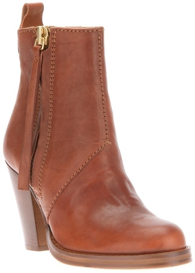 Acne Pistol Ankle Boot