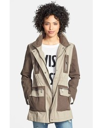 DKNY Two Tone Cotton Anorak Medium