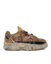 Maison Margiela Brown Fusion Sneakers