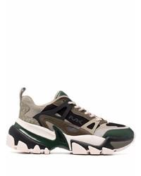 Michael Kors Michl Kors Nick Panelled Leather Sneakers