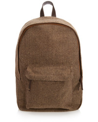 21men 21 Herringbone Tweed Backpack
