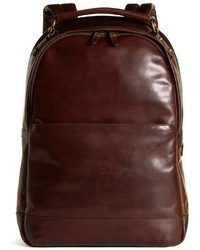 Brooks brothers distressed leather backpack medium 12609