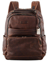 Logan leather backpack medium 12599