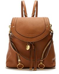 See by Chloe See By Chlo Olga Medium Grained Leather Backpack