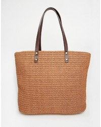 Vero Moda Straw Beach Bag