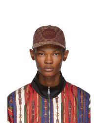 Gucci Tan Gg Patch Cap