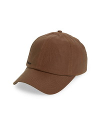 Barbour Waxed Cotton Baseball Cap
