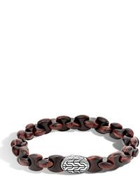 Batu classic chain bracelet with red tigers eye medium 455957