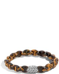 John Hardy Batu Classic Chain Bracelet With Tigers Eye