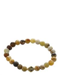 jcpenney Fine Jewelry Dee Berkley Multicolor Botswana Agate Bead Stretch Bracelet