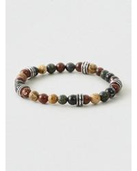 Topman Semi Precious Bead Stretch Bracelet