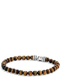 David Yurman Spiritual Beads Bracelet With Tigers Eye