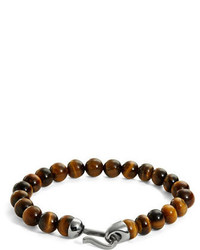 Zack Tigers Eye Beaded Bracelet