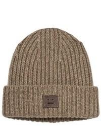 Acne Studios Brown Melange Mini Pansy Hat