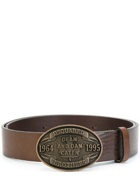 DSQUARED2 Dean And Dan Buckle Belt
