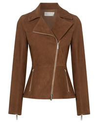 Brown biker jacket original 8877002