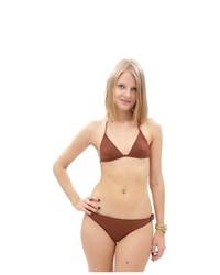 Dolce & Gabbana Beachware Bikini Brown Q00342 Size M