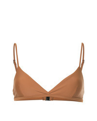Brown Bikini Top