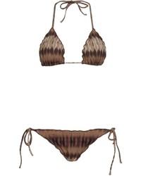 BRIGITTE Tie Dye Triangle Bikini Set