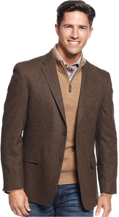 Tommy Hilfiger Jacket Donegal Sportcoat Trim Fit | Where to buy ...