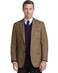 Madison fit glen plaid with deco sport coat medium 60