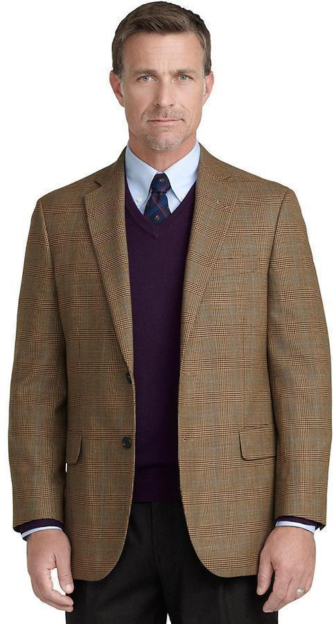 Brooks Brothers Madison Fit Glen Plaid With Deco Sport Coat ...