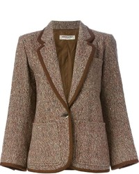 Saint Laurent Yves Vintage Tweed Jacket