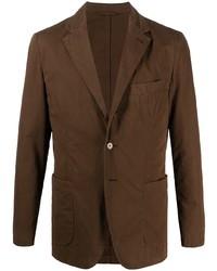 Aspesi Single Breasted Button Front Blazer