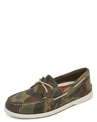 Sperry Ao 2 Eye Camo Boat Shoe