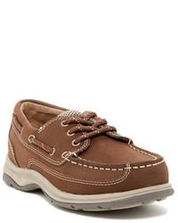 Florsheim Driftwood Ox Jr Boat Shoe