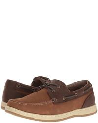 Nunn Bush Schooner Two Eye Boat Shoe Slip On Shoes