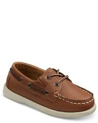 Cherokee Toddler Boys Doug Boat Shoes Brown