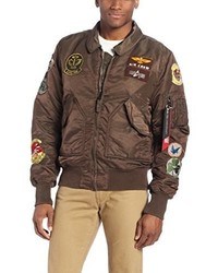 04bfe1293a1 Alpha Industries Men s Bomber Jackets from Amazon.com